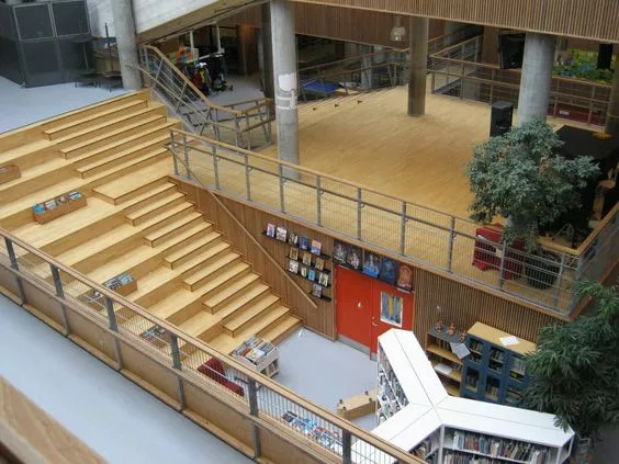 """你以为炫酷的大台阶设计就是画一个超大的""""单跑楼梯""""?_27"""