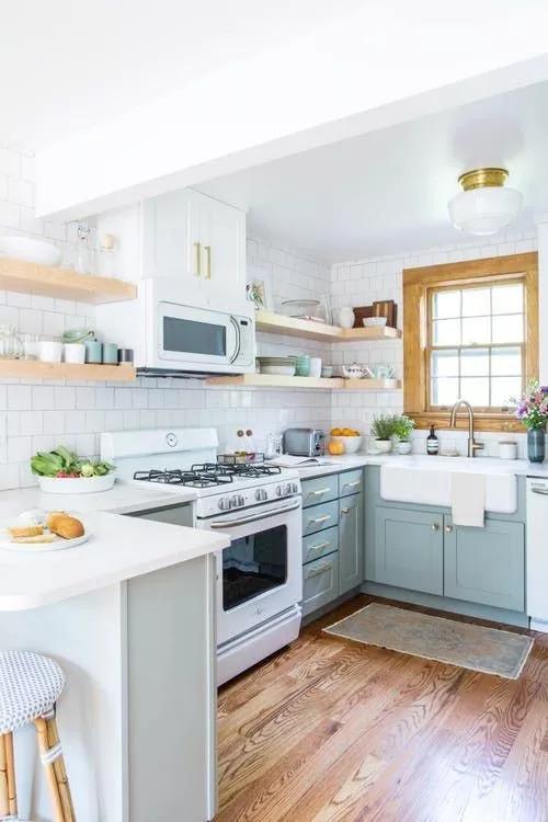 厨房比客厅还好看,让你爱上做饭!!_23