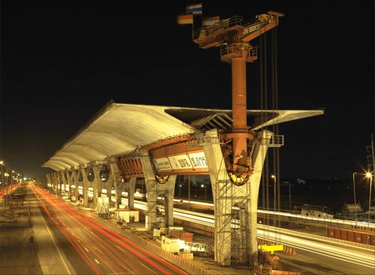 预应力混凝土连续梁桥预制拼装施工方法和要点