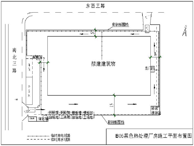 [江西]门式钢架结构黑色热处理厂房施工组织设计(337页)