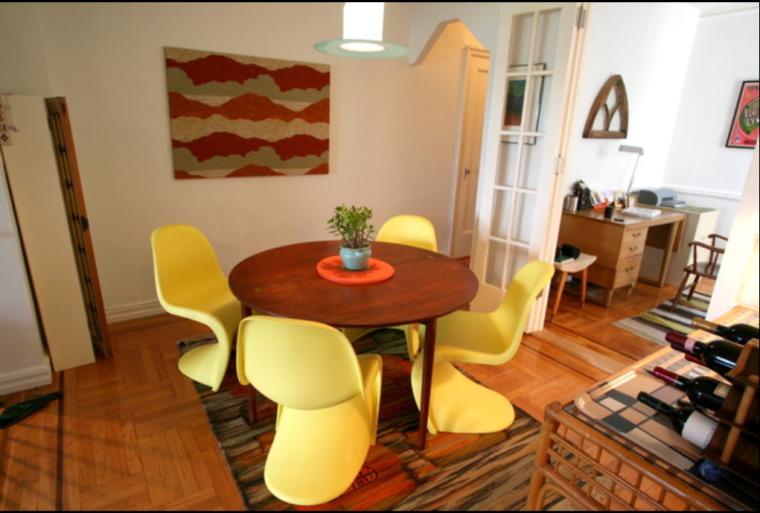 某幸福两居室住宅室内装修设计效果图方案(21张)