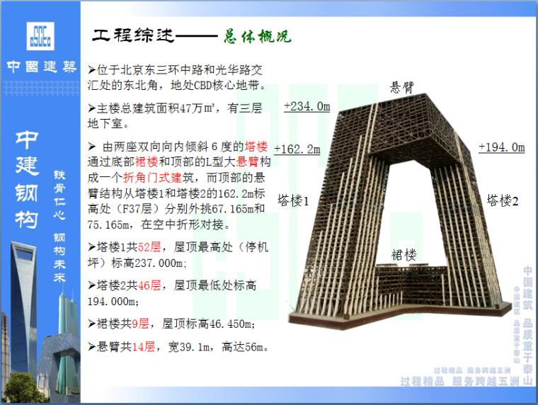 CCTV主楼倾斜超高层钢结构综合施工技术(共138页PPT,丰富附图)