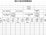 地铁工程路基、桥梁工程检查证施工记录表格(41个表格)
