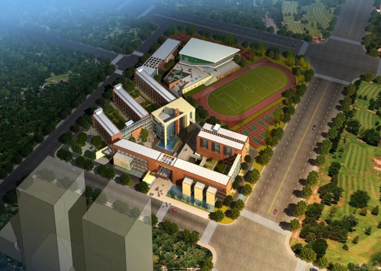 [江苏]杭州滨江区某高级中学展板方案设计