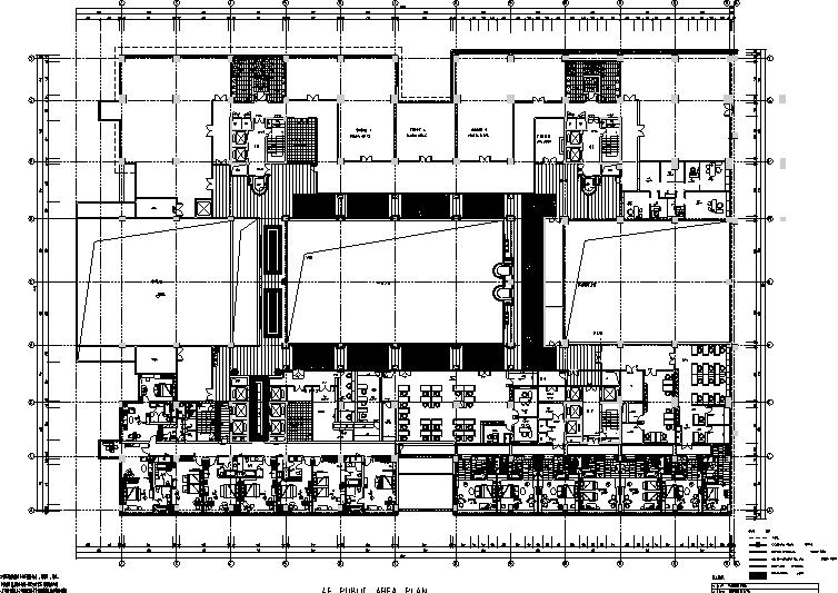 23000平米酒店空间设计施工图(附效果图+材料表)_3