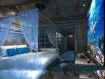 海洋主题酒店领略不一样的清凉