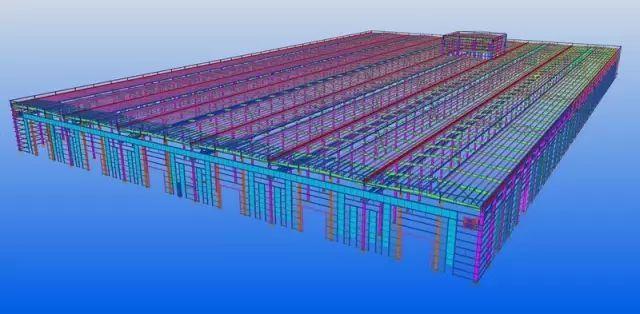 """五大钢结构之一""""门刚""""建筑如何深化设计?"""