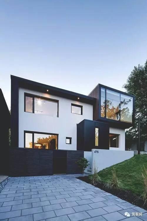 40款·简洁的现代别墅设计_33