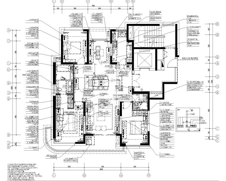 [上海]集艾设计G&A-海珀黄浦4-1中式样板间设计方案含效果图+施工图_3