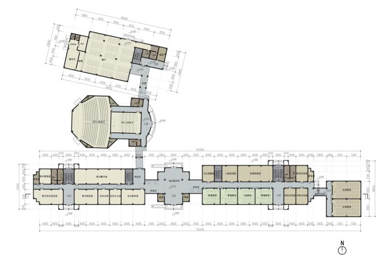 [江苏]欧式教师发展中心建筑设计文本(含文本效果图CAD)-屏幕快照 2018-12-17 下午3.34.55