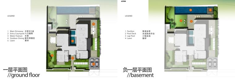 [广东]三亚椰风路项目概念景观设计(PDF+81页)-室内平面