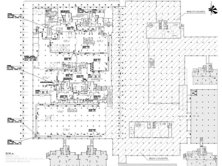 [江苏]多栋高层住宅小区通风及防排烟系统设计施工图(人防设计)