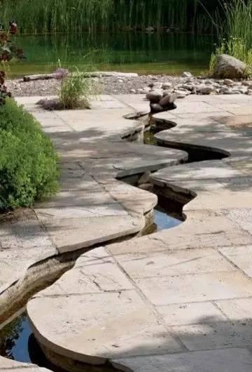 雨水沟,现代人的曲水流觞!