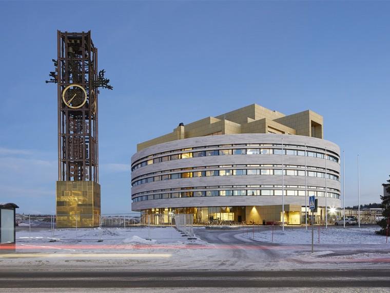 瑞典Kiruna新市政厅-00