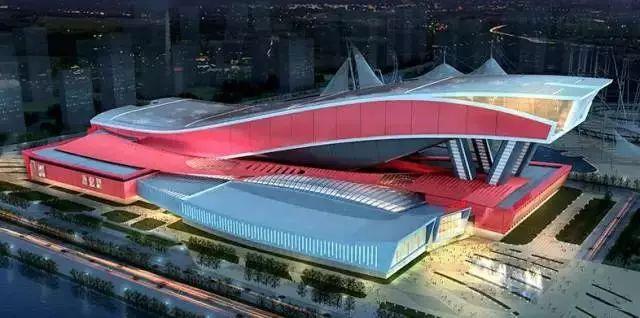 """""""大钢琴""""——全球最大钢结构建筑红色舞鞋万达茂结构分析"""