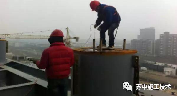 钢管柱高抛自密实混凝土辅助性振捣施工技术_6