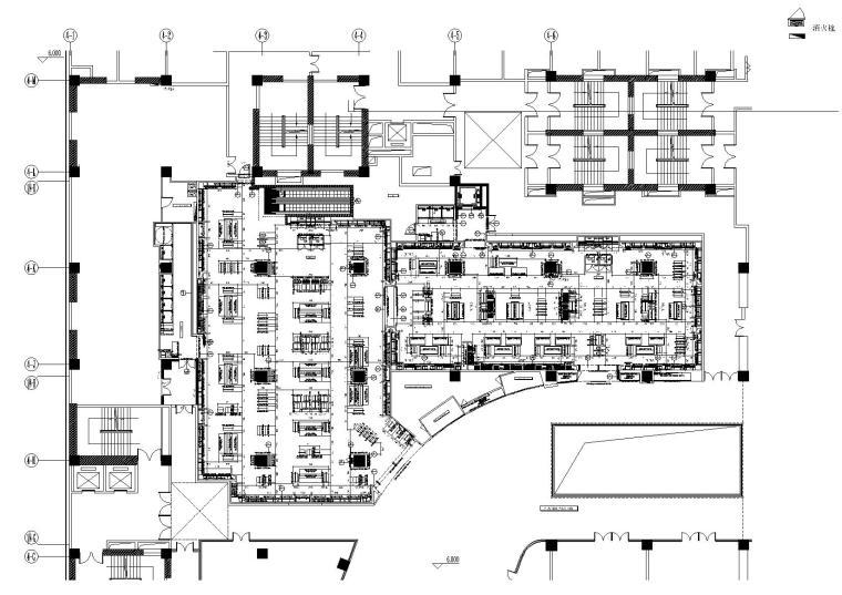 [昆明]ZARA昆明爱琴海店装饰施工图+电气+暖通+给排水+施工实景