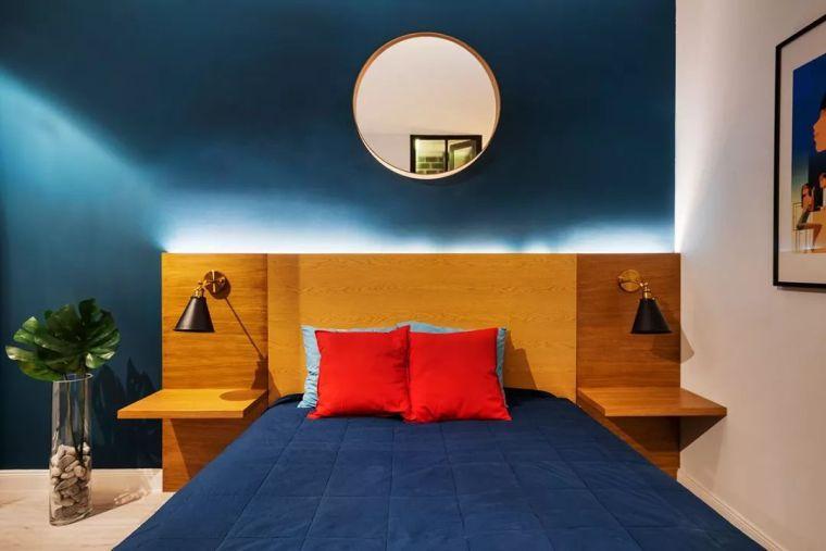 深色系墙面设计,让你家的颜值翻一倍_16