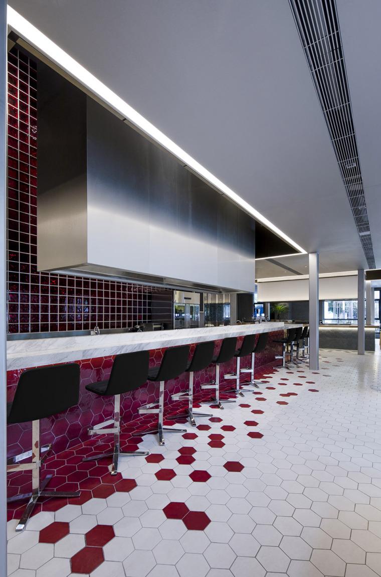 43套餐饮空间精品设计案例|3D成套模型免费下载!!-武汉萨丁伯格餐厅-5