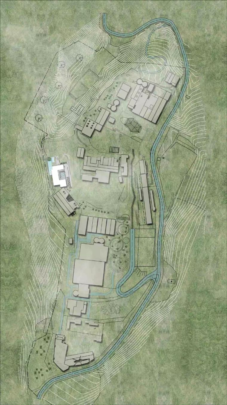 水泥厂改造成民宿,自然简约的设计就是这么美_38