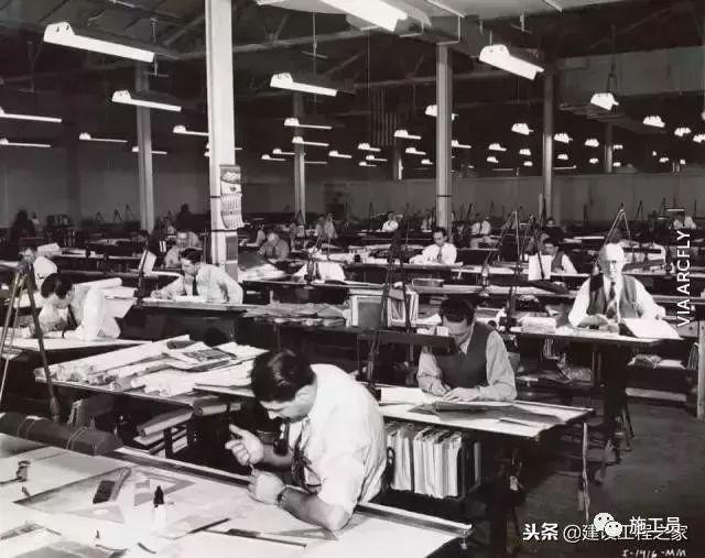 没有CAD的年代,施工图从哪里来?_2