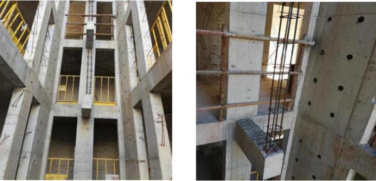 住宅楼工程蒸压加气混凝土砌块砌筑安全技术交底-单元分户墙位置