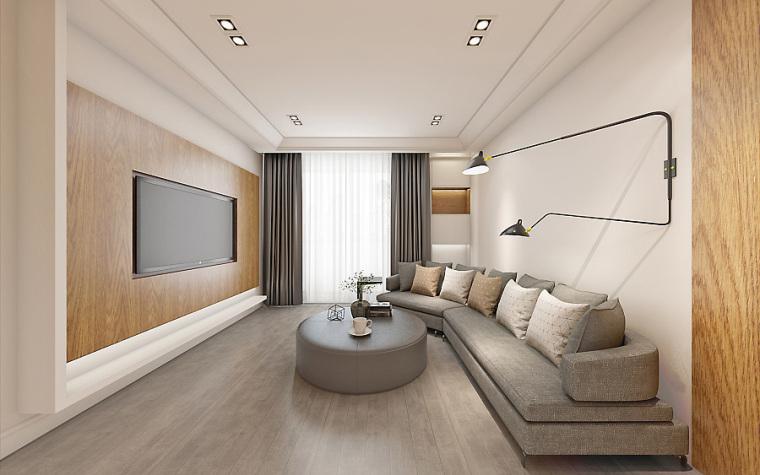 原木色实木打造现代极简风格案例台州龙头金诺装饰分享