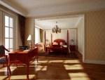 欧式套房卧室3D模型下载