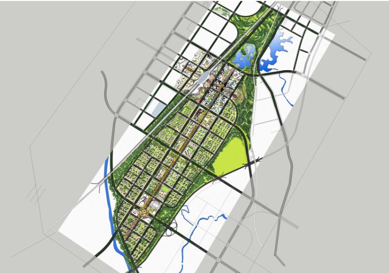 [重庆]多功能现代风格城市规划建筑设计方案文本