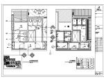 【上海】新荣记餐饮室内装饰设计施工图(附效果图)