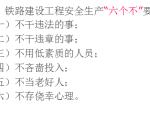 【成兰铁路】铁路建设项目安全管理(共95页)