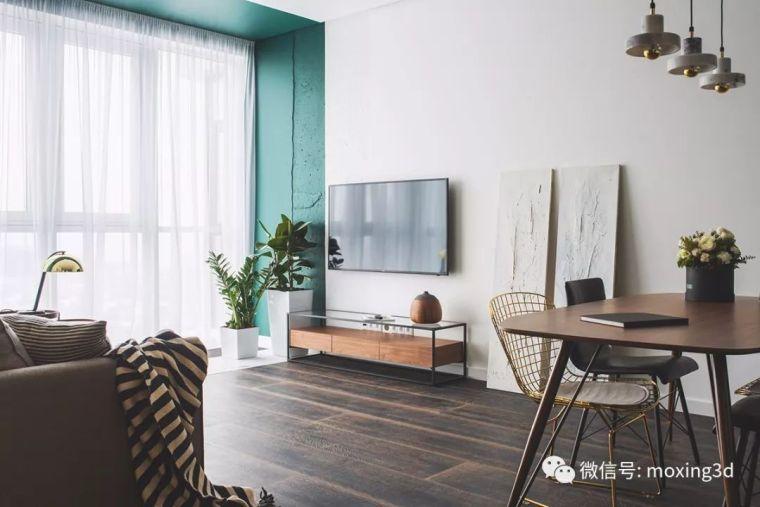 色彩灵动的北欧简约公寓,无可挑剔的美_4