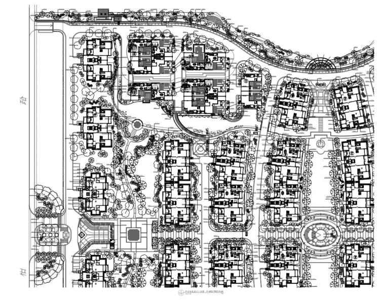 [上海]临港软质景观施工图绿化设计(包含+17页)
