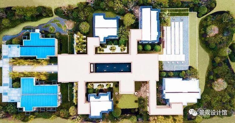 长沙万科魅力之城二期展示区景观设计案例赏析
