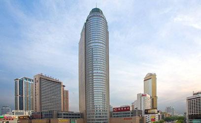 山西国际金融中心商业裙楼电气图