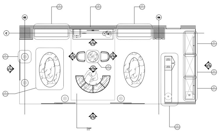 法国奢侈品概念店ShaooParisShop设计施工图+效果图
