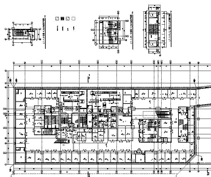 深圳超高层办公建筑给排水施工图(含气体灭火系统设计,给排水负荷计算)_5