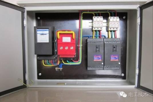 配电箱接线图get√ 安全快速安装配电箱