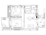 [海南]三亚时代海岸土色芭厘岛风格A2户型样板间