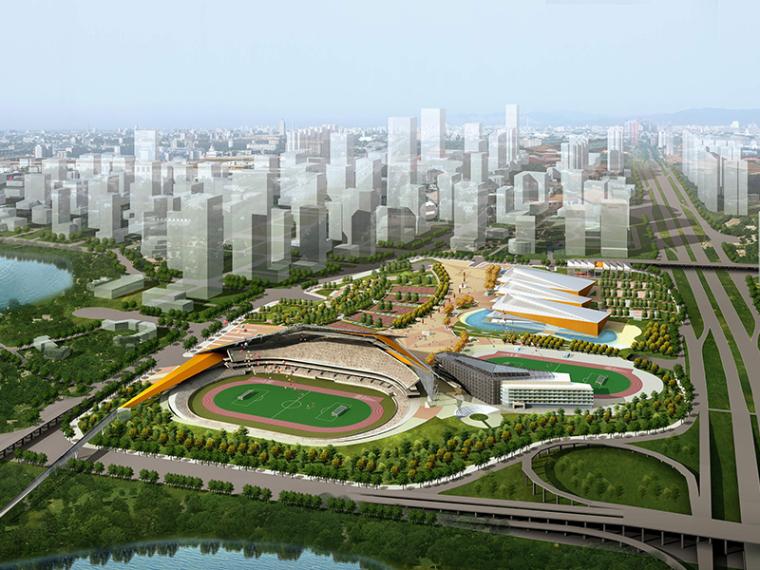 [深圳]体育中心规划建筑设计方案文本
