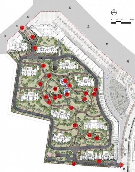[无锡]自然居住区绿地景观规划设计方案(知名地产)