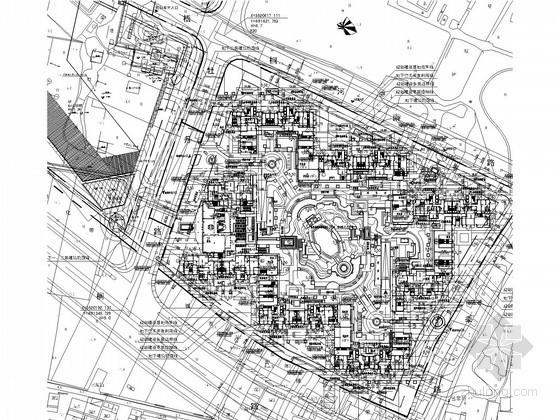 [江苏]17万平米8栋楼群及地下室给排水施工图纸234张(商业、综合、住宅)