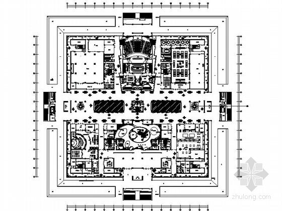 [山东]国内首创室内大型佛教主题文化产业园设计施工图(含效果)
