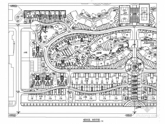 城市商业园林景观规划设计施工图