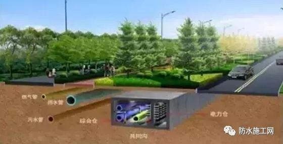"""城市地下综合管廊常见""""病害""""和防治办法汇总"""