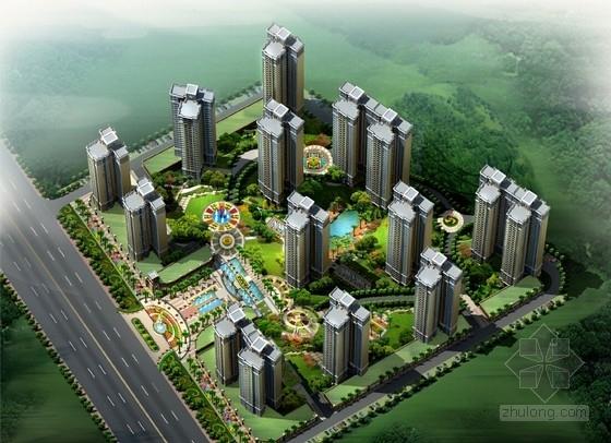 [廣東]綠色宜居住宅區規劃設計方案文本(知名設計院)