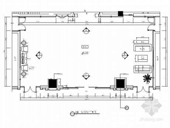 140平方办公楼大厅装修图(含效果)