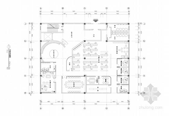 [贵州]现代简洁风格企业办公空间设计方案(含效果图)