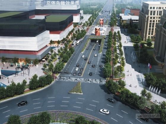 [河北]城市人文绿色廊道景观规划设计方案
