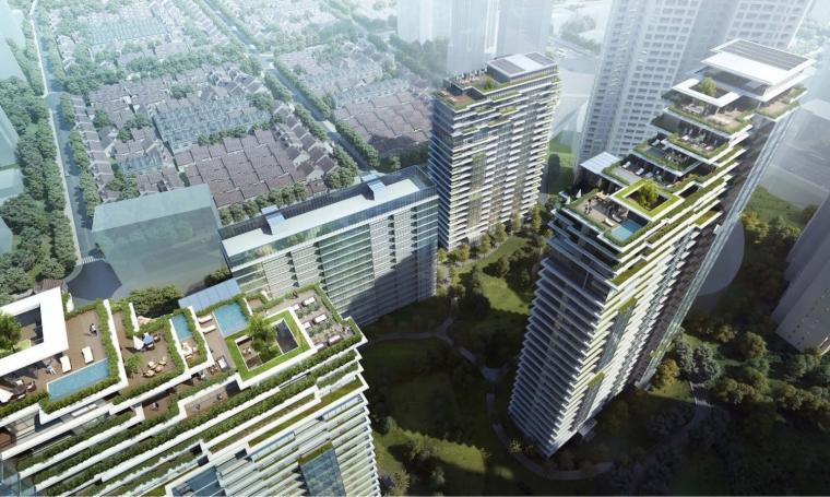上海中信泰富集团大楼居民区的改造-1 (11)
